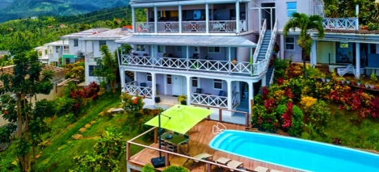 £40pp Based on 2 people per night | Hotel The Champs, Portsmouth, Dominica