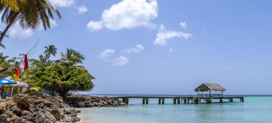 Boutique all-inclusive Tobago beach escape with ocean view room upgrade & extras