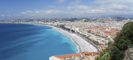 Boutique Nice break by the beach with optional car hire