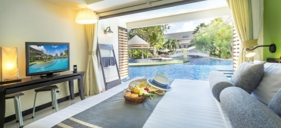 £88pp Based on 2 people per room | Tropical Thailand city & beach holiday with swim-up suite, Bangkok, Krabi & Koh Lanta
