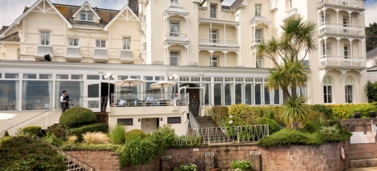 Luxury country house hotel break with car hire in scenic Jersey