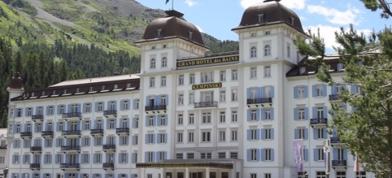 £134pp Based on 2 people per suite | Grand Hotel des Bains Kempinski, St Moritz, Switzerland