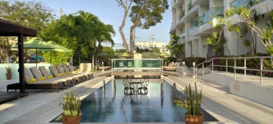 £66pp Based on 2 people per suite | South Beach by Ocean Hotels, Barbados, Caribbean