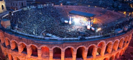 £283pp Based on 2 people per room | Classic Verona break with Ennio Morricone concert tickets, Hotel Leopardi, Italy