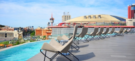 £58pp Based on 2 people per room | B-Hotel, Barcelona, Spain