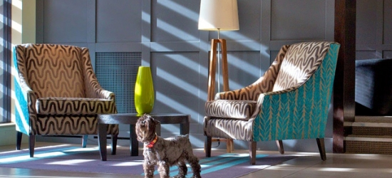 A stylish boutique hotel in leafy South West London