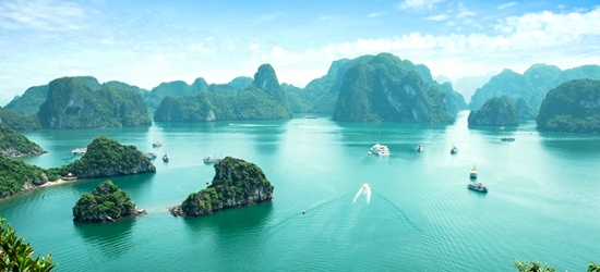 5* Vietnam holiday with luxury Halong Bay cruise & over-water lagoon retreat