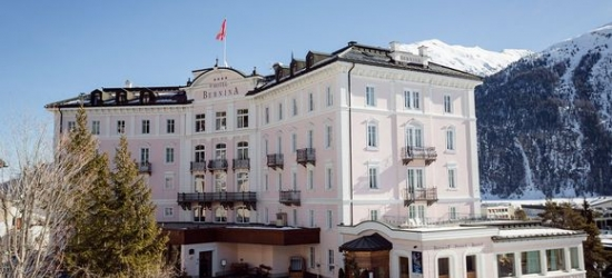 St Moritz - Breathtaking Views of Endagin Valley at the Hotel Bernina 1865 4*