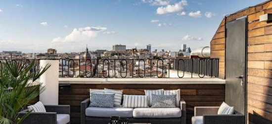 Madrid - Central Hotel with Theatrical-Inspired Contemporary Design at the Hotel Vincci Via 66 4*