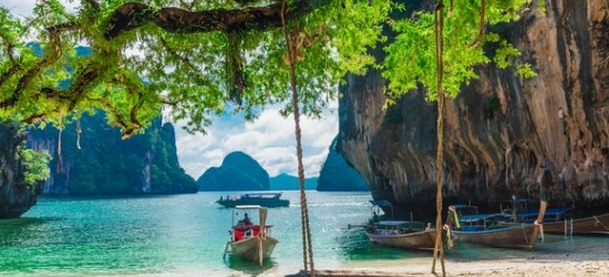 Thailand / Krabi - Relaxed Island Escape at Asian Chic Hotel  at the The Small Krabi 4*
