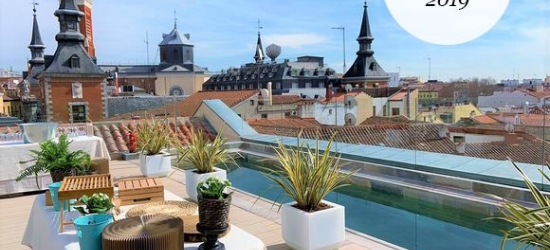 Madrid - Brand New Hotel with Top Floor Swimming Pool at the Pestana Plaza Mayor 4*