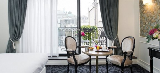 Paris - Charming 19th Century Hotel in the City Centre at the Hotel Saint Petersbourg Paris 4*