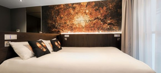 London - Sophisticated Concept Hotel in West London at the LUMA Concept Hotel 4*