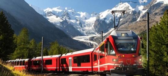 3nt Italy to Switzerland Bernina Express Train, Hotel Stays