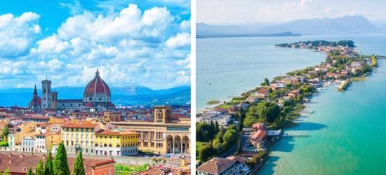 4-6nt Florence & Lake Garda Tour, Train Transfers