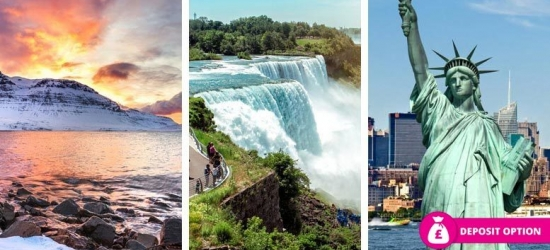 6-9nt Iceland, Niagara Falls & New York Escape, Flights & Transfers