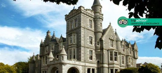 4* Aberdeenshire Manor Spa Break, Dining & Treatment Discount for 2