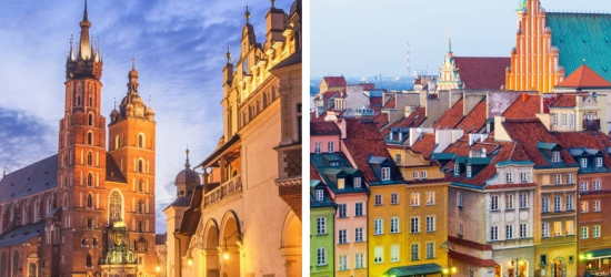 4-6nt Krakow & Warsaw Getaway