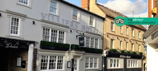 4* Buckingham Break, 3-Course Dinner, B'fast & Late Check Out for 2