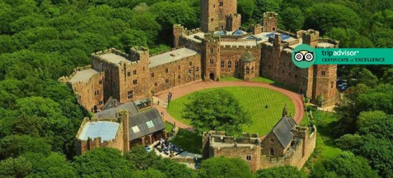 4* Cheshire Stay & Dining for 2 @ Peckforton Castle