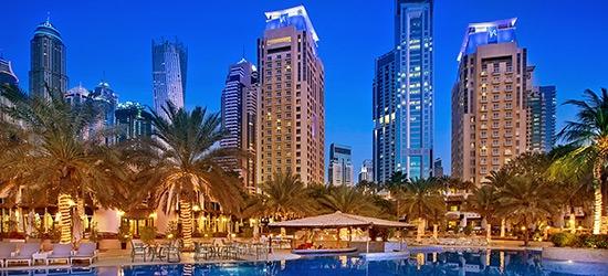 3nt 5* luxury Dubai escape w/board upgrade