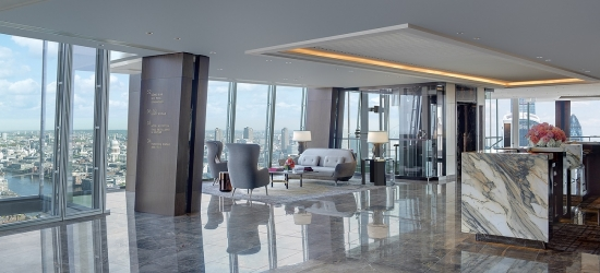 Win a night's stay & 5-course meal at the Shangri-la Hotel at The Shard, London