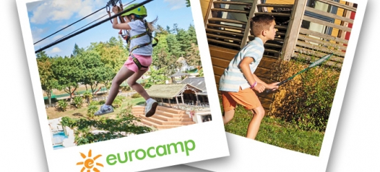 Win a 7-night Eurocamp family break