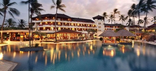 Bali - 5* stay at the Nusa Dua Beach Hotel & Spa with extras