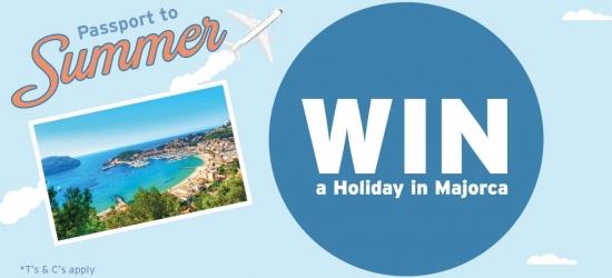Win a sun-soaked island break for four to Majorca