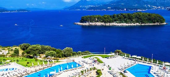 7nt 4*plus Croatian resort holiday