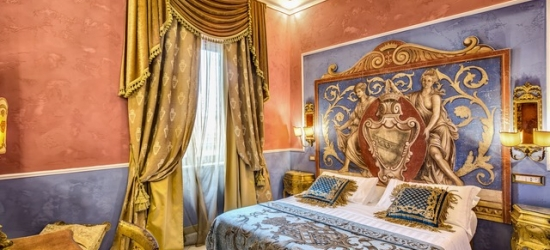 £52pp Based on 2 people per night | Romanico Palace Hotel, Rome, Italy
