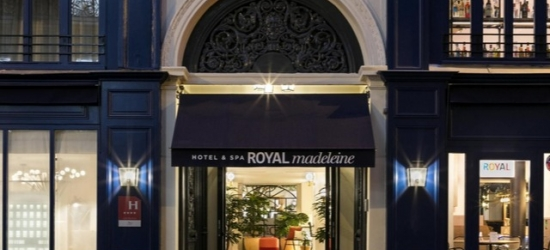 £66pp Based on 2 people per night | Royal Madeleine Hotel, Paris, France