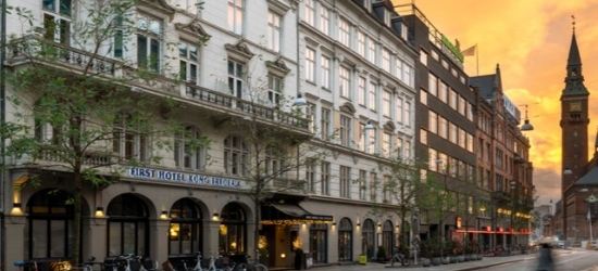 £66pp Based on 2 people per night | First Hotel Kong Frederik, Copenhagen, Denmark