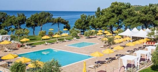 5* beachfront getaway to a Greek Island resort & spa