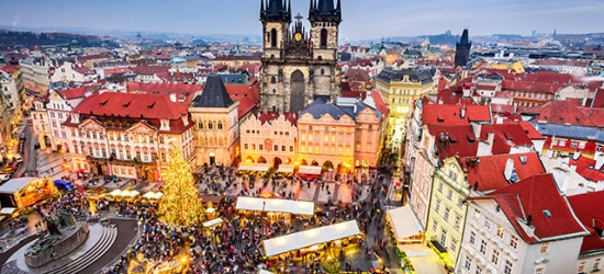 Contemporary Prague boutique break with festive and New Year's Eve dates