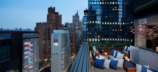 £80pp Based on 2 people per night | 6 Columbus, a SIXTY hotel, Midtown Manhattan, New York