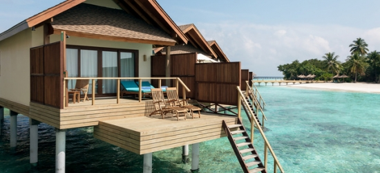 5* half-board Maldives holiday with over-water villa