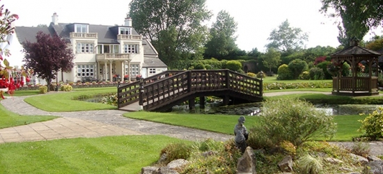 Somerset: 1 or 2 Nights for Two with Breakfast, Spa Access and Optional Food Credit at 4* Rookery Manor Hotel & Spa