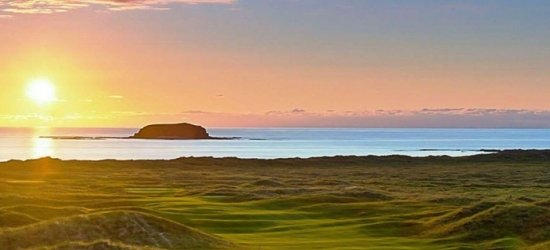 Co. Donegal: Up to 3 Nights for Two with Irish Breakfast, Wine and Dining Credit at The Strand Hotel Ballyliffin