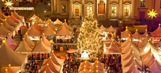 ✈ German Christmas Markets: 2 or 3 Nights at Choice of Hotels with Return Flights*