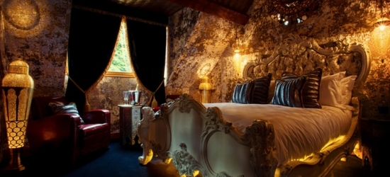 5* Crazy Bear Signature Hotel, Stadhampton, Oxfordshire