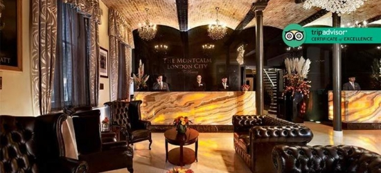 5* The Montcalm at The Brewery London City Stay & Breakfast for 2