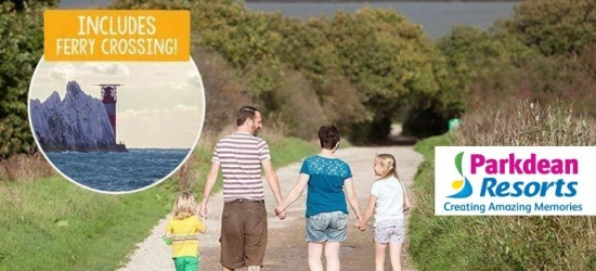3-4nt Parkdean Resorts Isle of Wight Getaway with Ferry for 6