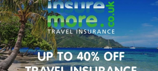 £1 for up to 40% off Travel Insurance - Annual & Single Trips!