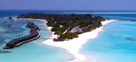 7 nights at the 4* Kuredu Island Resort & Spa, Maldives