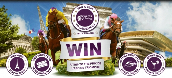 Win a trip to the Prix de l'Arc de Triomphe in Paris