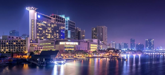 3nt 5* Abu Dhabi getaway w/half board option