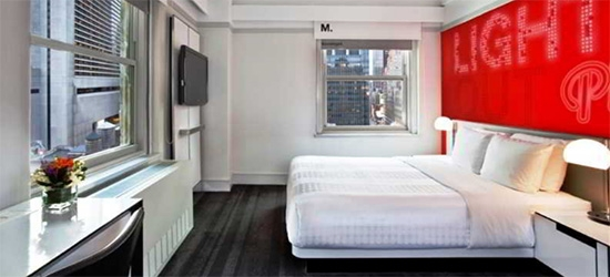 3 nights at the 3* ROW NYC in September 2019