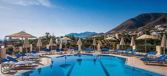 7nt 3* family run apartments in Crete