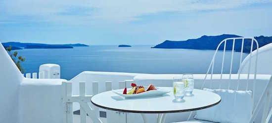 7 nights at the 5* Kirini Suites & Spa, Santorini